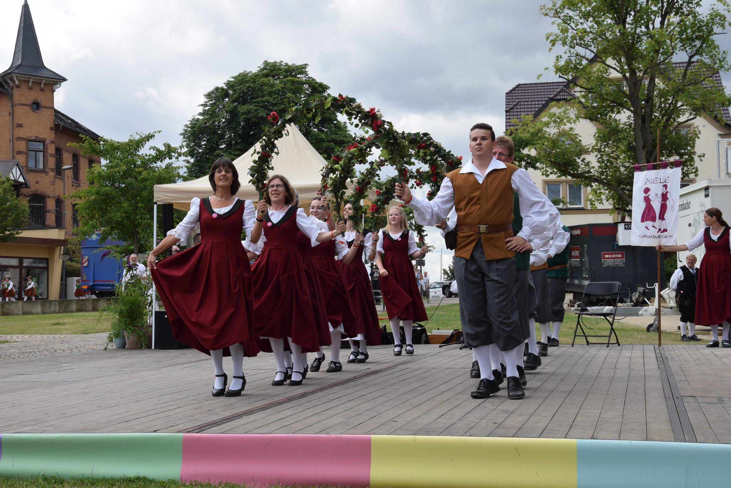 Foto dansers optreden Duitsland