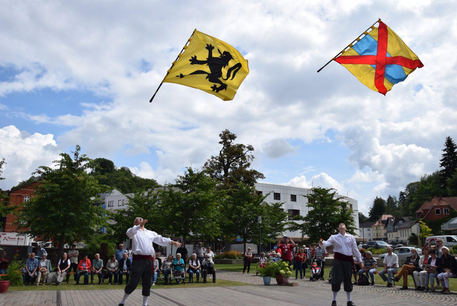 Foto vendeliers optreden Duitsland